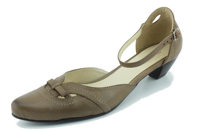 Nadměrná obuv dámská MW159 hnědá