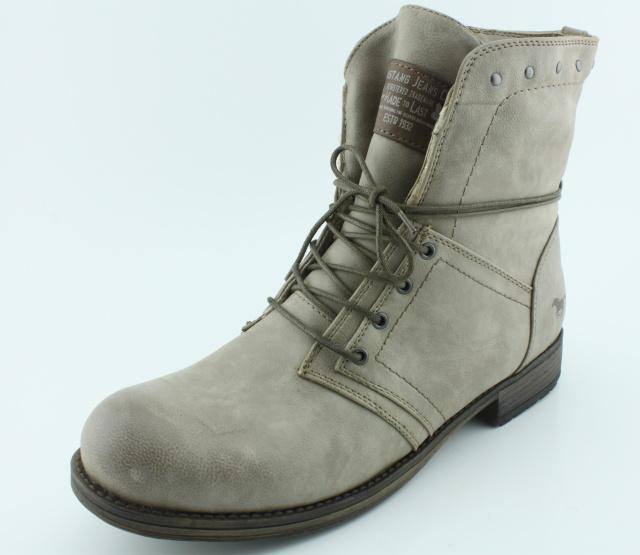 Nadměrná obuv MUSTANG MU610 taupe