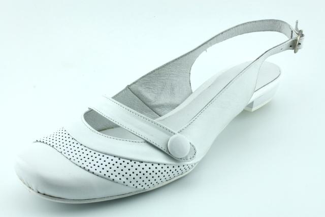 Dámská obuv nadměrná MW323bílá