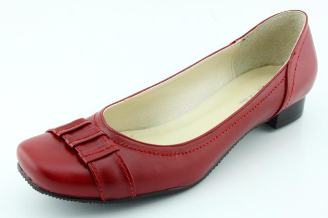 Nadměrná obuv dámská MW358 červená