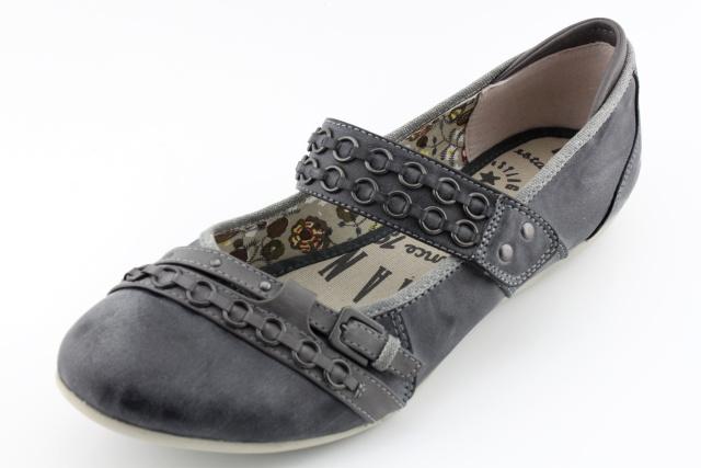 Dámská nadměrná obuv MUSTANG MU212 stein