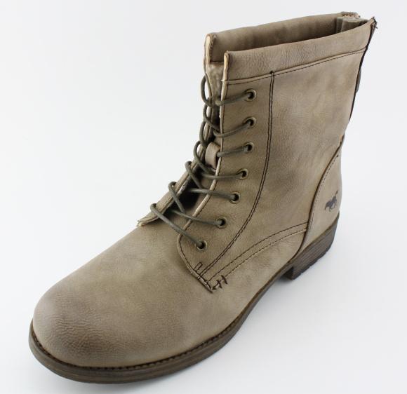 Dámská nadměrná obuv MUSTANG MU1139 taupe
