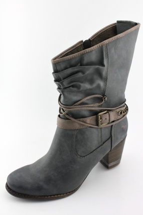 Dámská nadměrná obuv MUSTANG MU505 grau