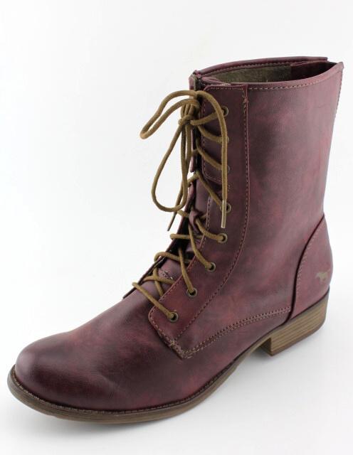 Nadměrná obuv MUSTANG MU11675 bordeux