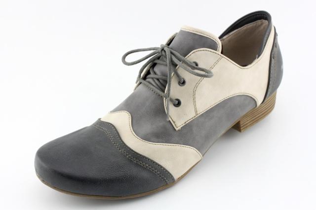 Dámská obuv nadměrná MUSTANG MU1176 grau