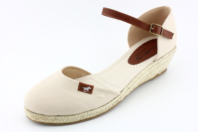 Letní nadměrná obuv MUSTANG MU905 beige