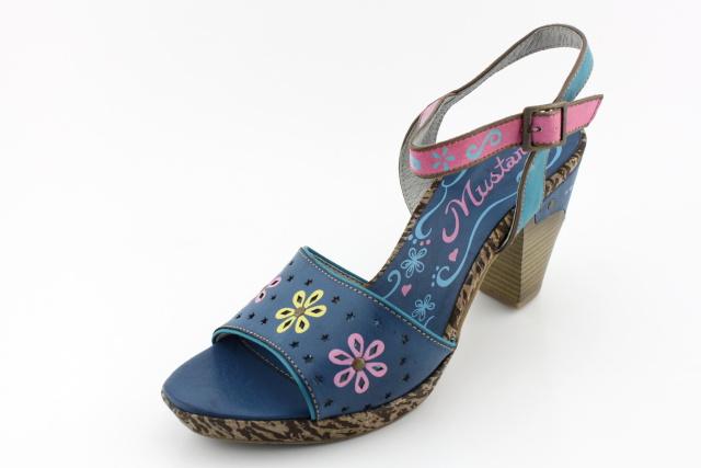 Dámská obuv MUSTANG MU802 blau