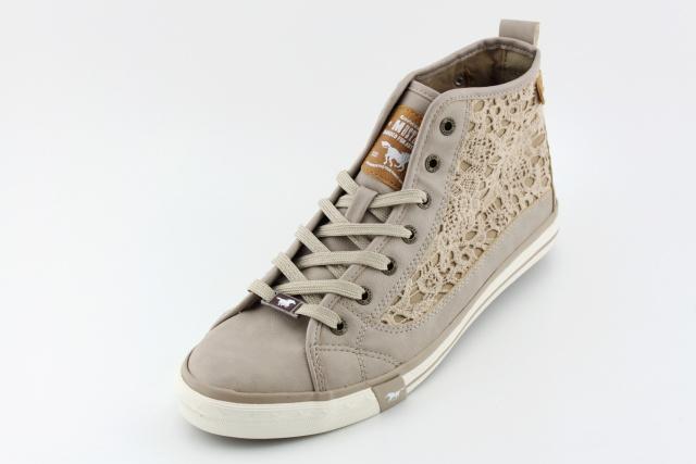 Stylová dámská obuv MUSTANG MU507 beige