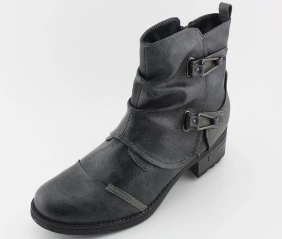 Nadměrná dámská obuv MUSTANG MU1229 navy
