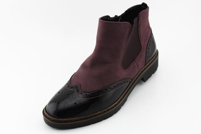 Nadměrná obuv dámská ARA AR004 bordo