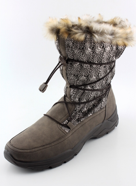 Nadměrná obuv zimní ARA AR975 metal