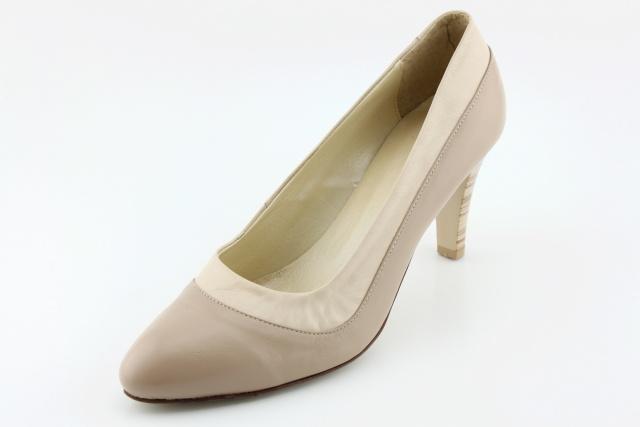 Dámská obuv nadměrná MW499 béžová2