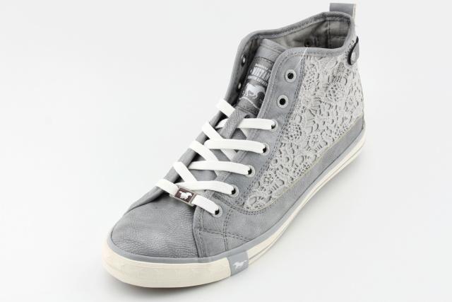 324e1edf764 Dámská nadměrná obuv MUSTANG MU507 grau