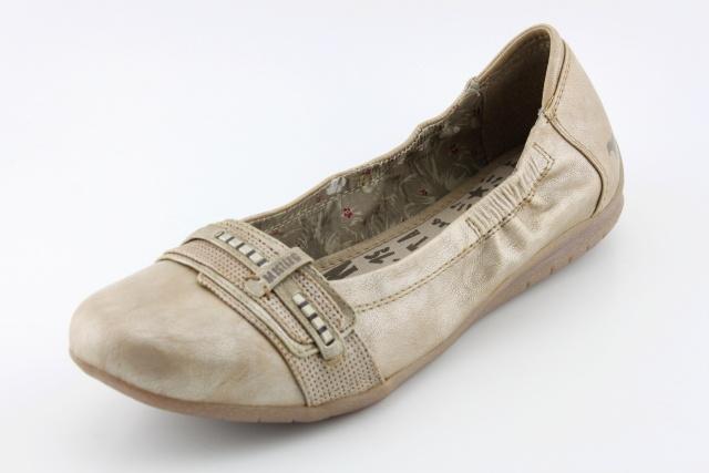 Nadměrná obuv MUSTANG MU1181 taupe