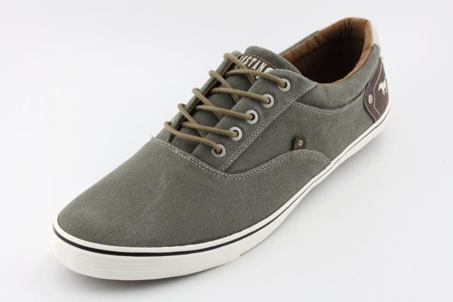 Nadměrná pánská obuv MUSTANG MU4101 khaki