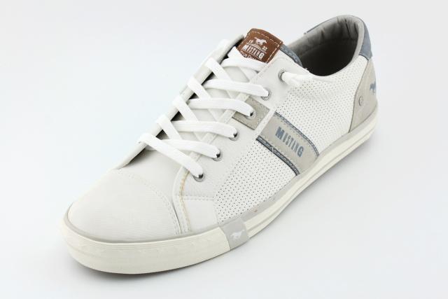 Pánská nadměrná obuv MUSTANG MU4072 weiss