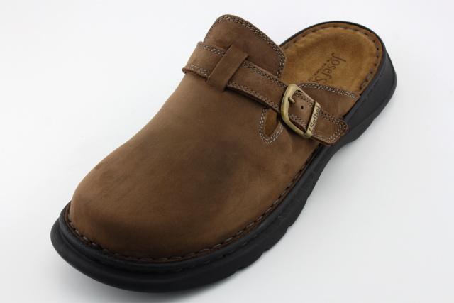 Nadměrná obuv - pantofle JOSEF SEIBEL JS10122 castagne