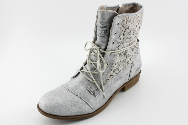 Nadměrná obuv MUSTANG MU1157 silber