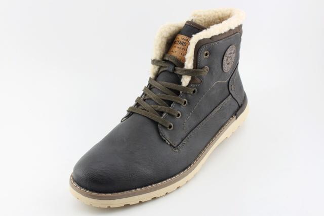 Zimní nadměrná obuv MUSTANG MU4092 graphit