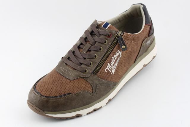 Pánská nadměrná obuv MUSTANG MU4095 kastain