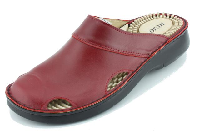 Dámská obuv nadměrná HO001 červené
