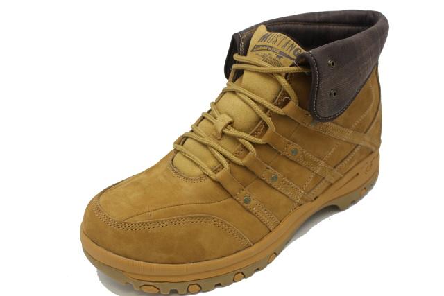 Pánská zimní obuv MUSTANG MU552 camel 29e8ba17c6