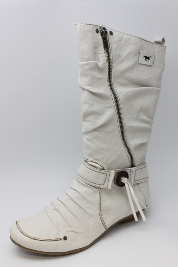 60d896f77cca8 DÁMSKÁ NADMĚRNÁ OBUV | MUSTANG MU505 bílá | Nadměrná obuv pánská a ...