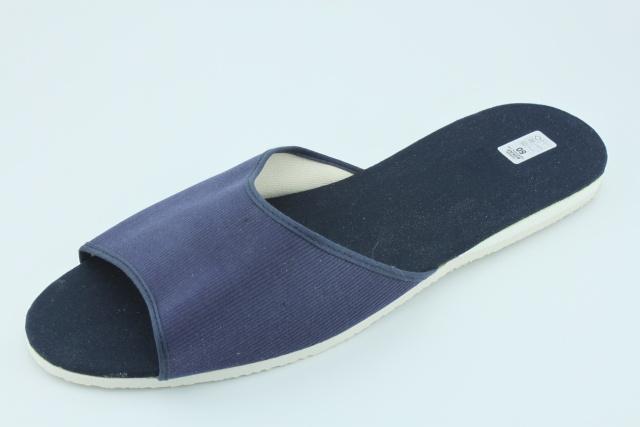 Nadměrná obuv BP017 pantofle modré