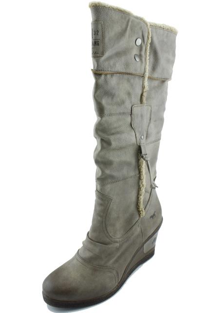 Dámská nadměrná obuv MUSTANG MU608 béžová