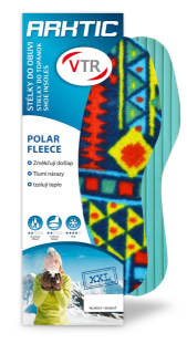 Vložky do bot Polar Fleece XXL