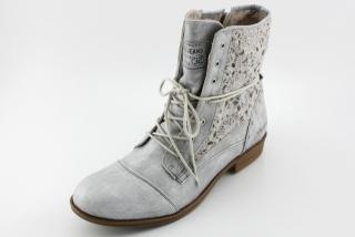 438ec43a0dc Nadměrná obuv MUSTANG MU1157 silber
