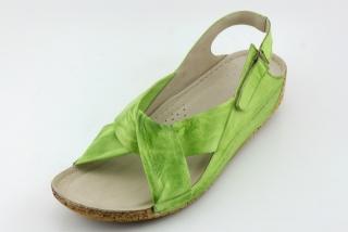 0aa58d18a652 Letní nadměrná obuv KARYOKA KA2024 zelená