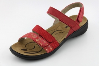 f0d32e6426 Nadměrná obuv letní ROMIKA RO103 carmin